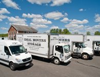 Ideal Movers and Storage has several clean, well-maintained trucks in different sizes to accommodate any size move