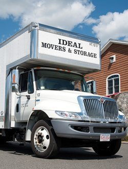 Ideal Movers and Storage largest truck size of 26 feet
